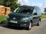 Volkswagen Caddy Maxi (Type 2K) 2010 images