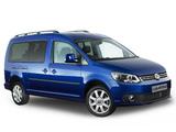 Volkswagen Caddy Maxi 4MOTION AU-spec (Type 2K) 2010 images