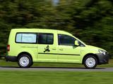 Volkswagen Caddy Tramper Maxi (Type 2K) 2010 photos