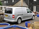 Volkswagen Caddy Kasten Maxi UK-spec (Type 2K) 2010 photos