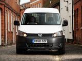 Volkswagen Caddy Kasten UK-spec (Type 2K) 2010 photos