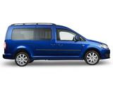 Volkswagen Caddy Maxi 4MOTION AU-spec (Type 2K) 2010 pictures