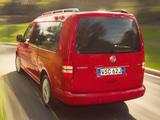Volkswagen Caddy Maxi Life AU-spec (Type 2K) 2010 pictures