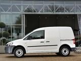 Volkswagen Caddy Kasten UK-spec (Type 2K) 2010 pictures