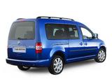 Volkswagen Caddy Maxi 4MOTION AU-spec (Type 2K) 2010 wallpapers