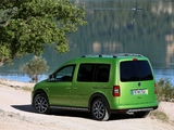 Volkswagen Cross Caddy (Type 2K) 2012 pictures