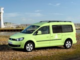 Volkswagen Caddy Camper UK-spec (Type 2K) 2013 images