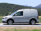 Volkswagen Cross Caddy Kasten (Type 2K) 2013 images