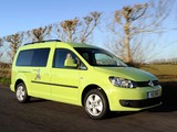 Volkswagen Caddy Camper UK-spec (Type 2K) 2013 photos