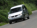 Volkswagen Caddy Life BlueMotion (Type 2K) 2004–10 wallpapers