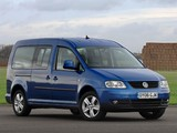 Volkswagen Caddy Maxi Life UK-spec (Type 2K) 2007–10 wallpapers