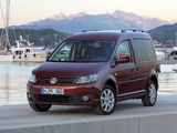 Volkswagen Caddy (Type 2K) 2010 wallpapers