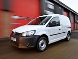 Volkswagen Caddy Kasten UK-spec (Type 2K) 2010 wallpapers