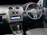Volkswagen Caddy Maxi Crew Bus ZA-spec (Type 2K) 2010 wallpapers
