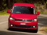 Volkswagen Caddy Maxi Life AU-spec (Type 2K) 2010 wallpapers