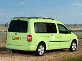 Volkswagen Caddy Camper UK-spec (Type 2K) 2013 wallpapers