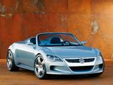 Photos of Volkswagen Concept-R 2003
