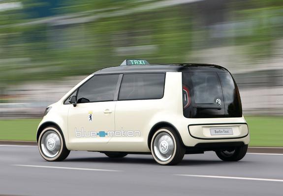 Volkswagen Berlin Taxi Concept 2010 Wallpapers