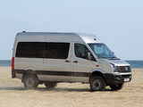 Images of Volkswagen Crafter High Roof Bus 4MOTION by Achleitner 2011