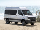 Pictures of Volkswagen Crafter High Roof Bus 4MOTION by Achleitner 2011