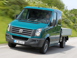Pictures of Volkswagen Crafter Double Cab Pickup 2011