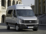 Volkswagen Crafter High Roof Bus 2011 pictures