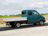 Volkswagen Crafter Double Cab Pickup 2011 wallpapers
