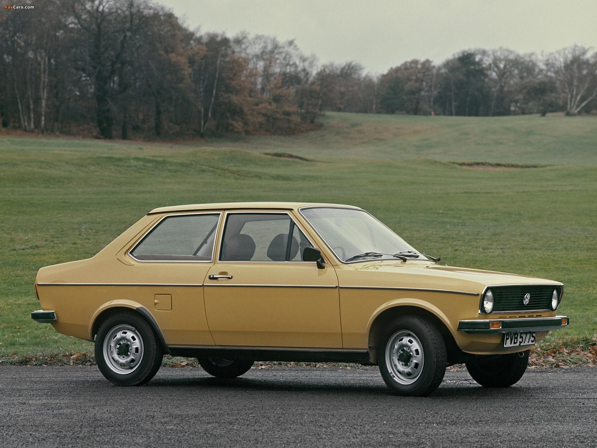 Volkswagen Derby (I) 1978–81 photos (2048 x 1536)