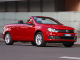 Photos of Volkswagen Eos AU-spec 2011