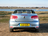 Volkswagen Eos UK-spec 2011 wallpapers