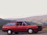 Images of Volkswagen Fox Wagon US-spec 1987–91
