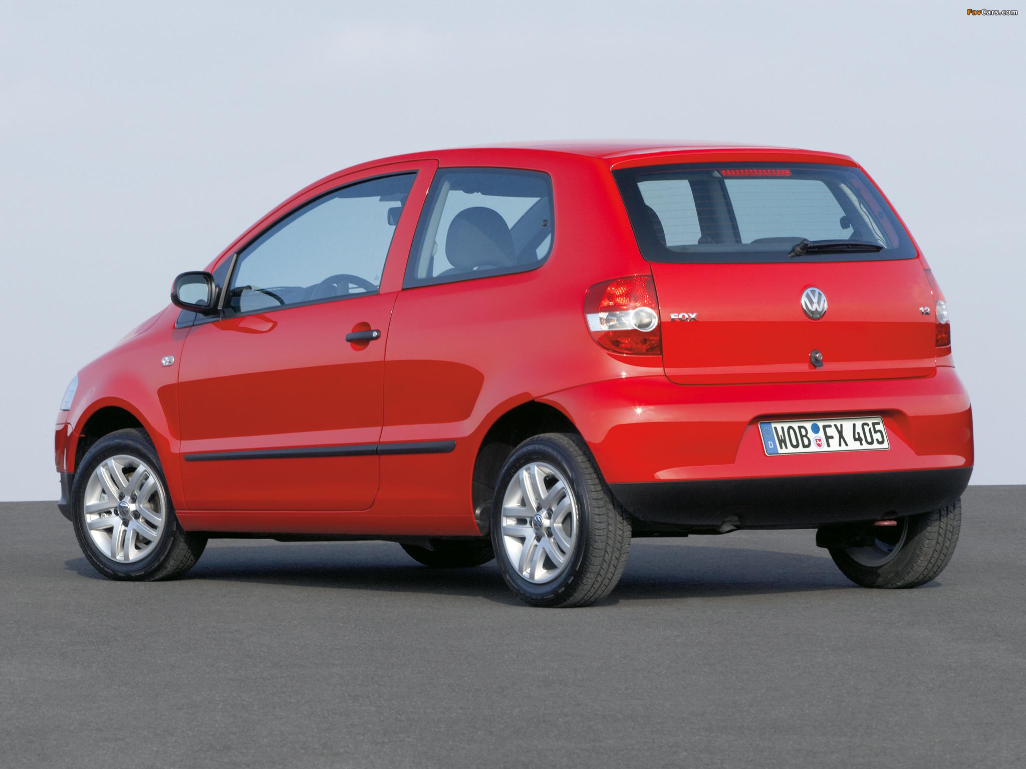 Images of Volkswagen Fox 2005–09 (2048 x 1536)