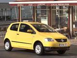Images of Volkswagen Fox UK-spec 2005–09