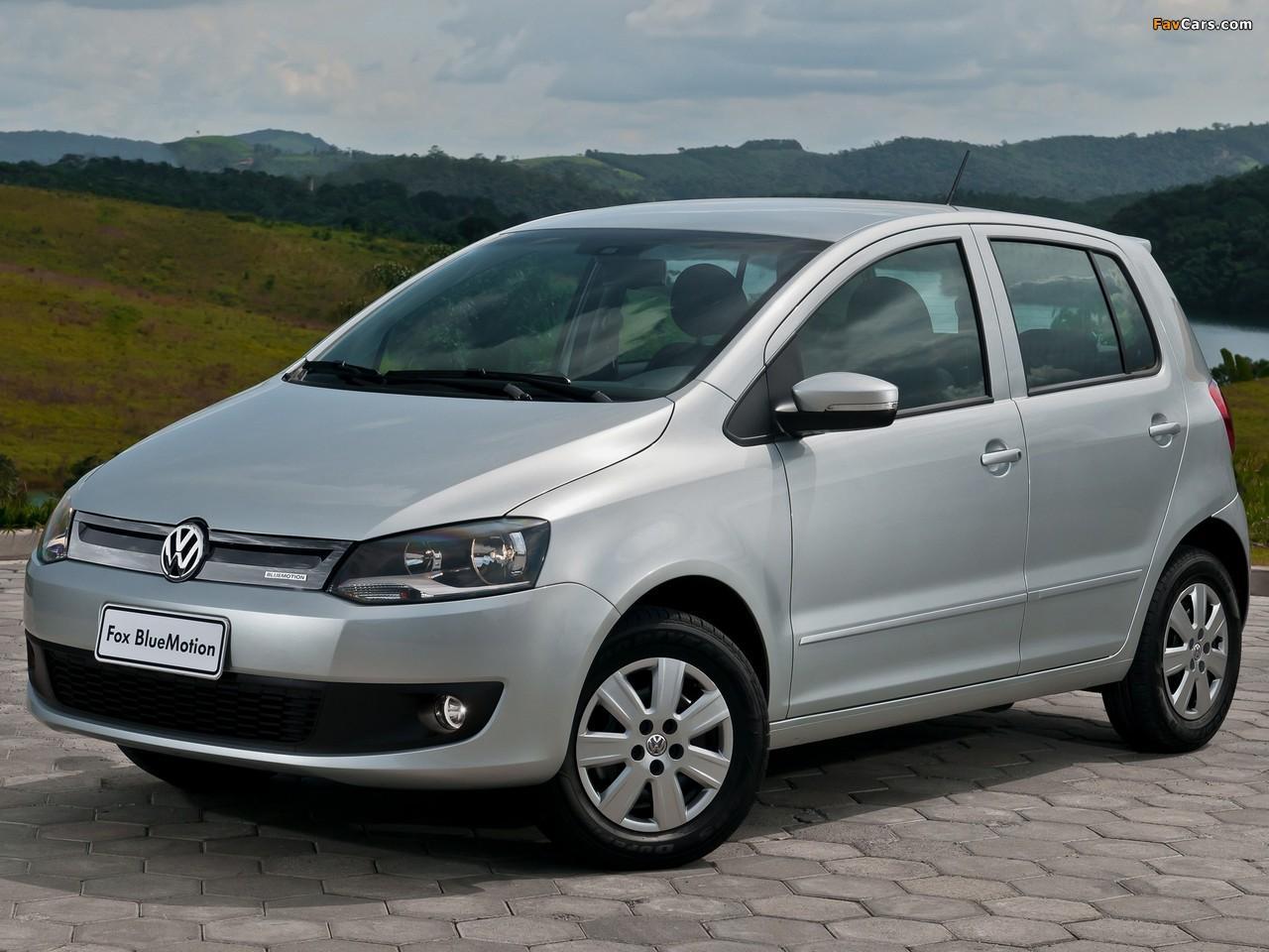 Images of Volkswagen Fox BlueMotion 5-door 2012 (1280 x 960)