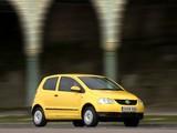 Photos of Volkswagen Fox UK-spec 2005–09