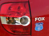 Photos of Volkswagen Fox Route 2007