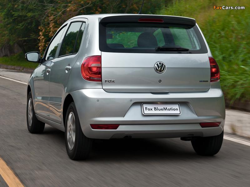Photos of Volkswagen Fox BlueMotion 5-door 2012 (800 x 600)