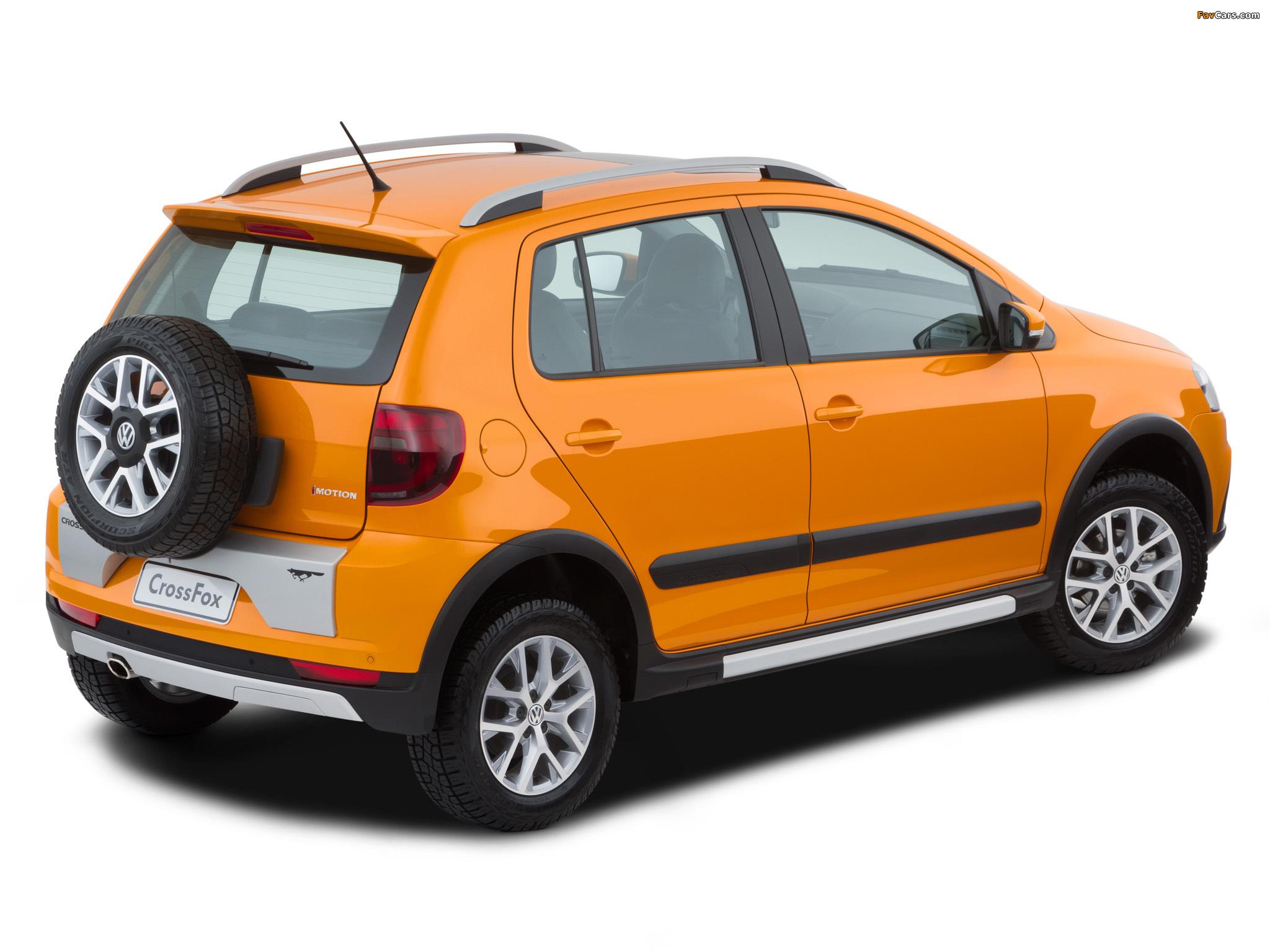 Volkswagen CrossFox 2012 pictures (2048 x 1536)