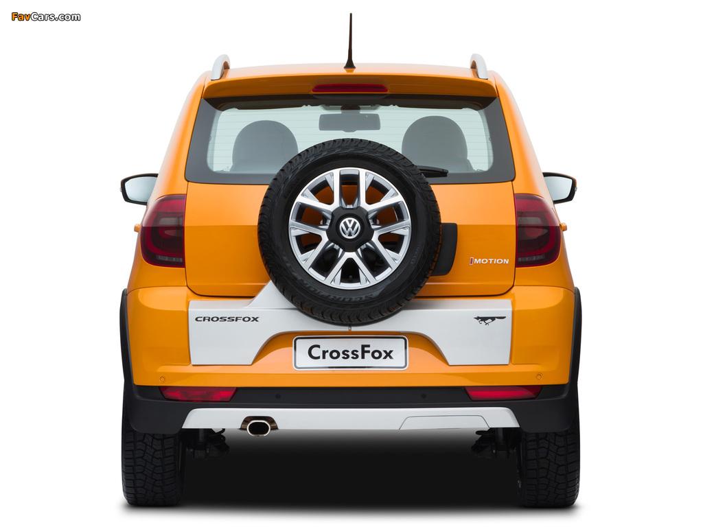 Volkswagen CrossFox 2012 wallpapers (1024 x 768)