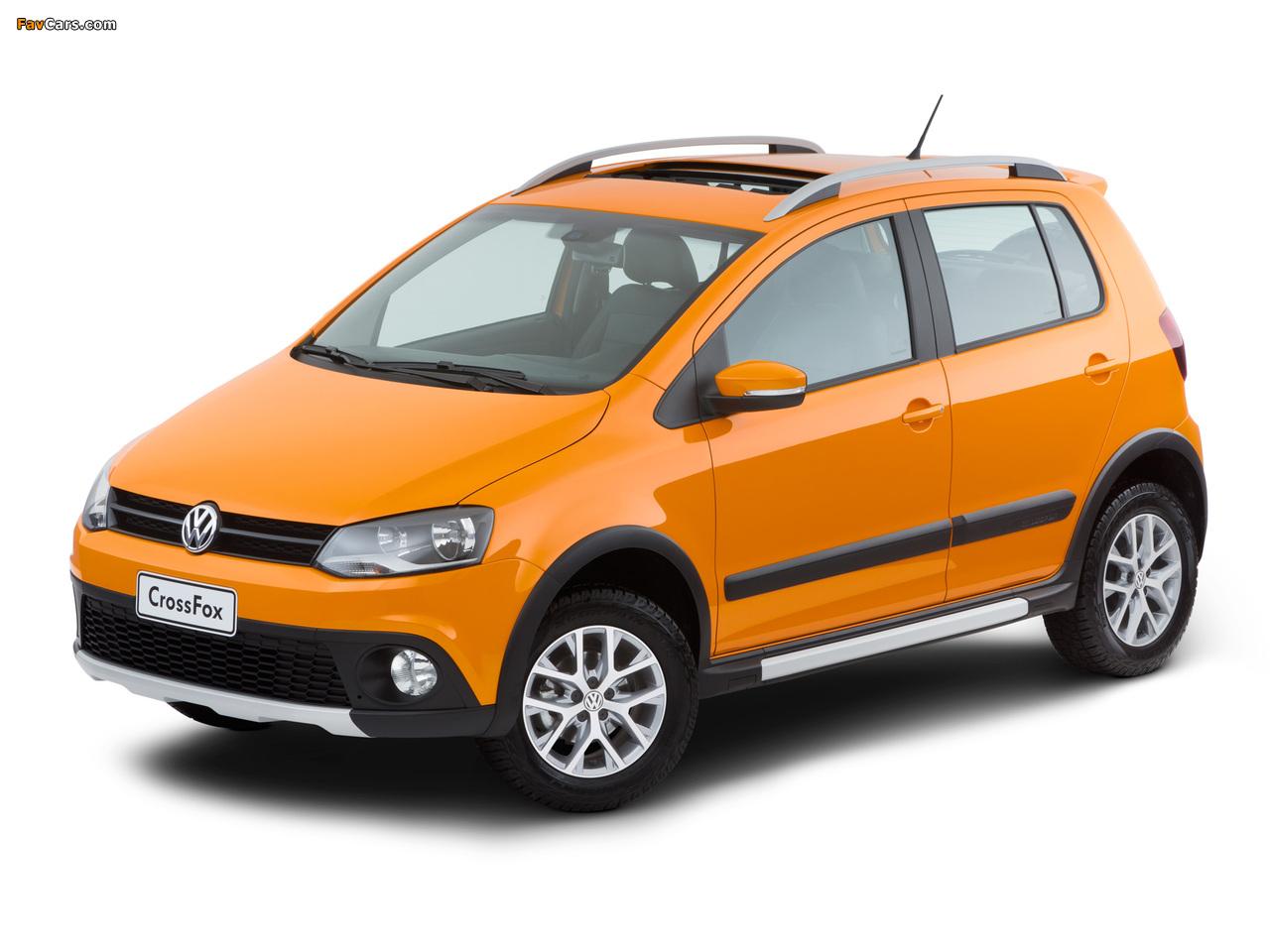 Volkswagen CrossFox 2012 wallpapers (1280 x 960)