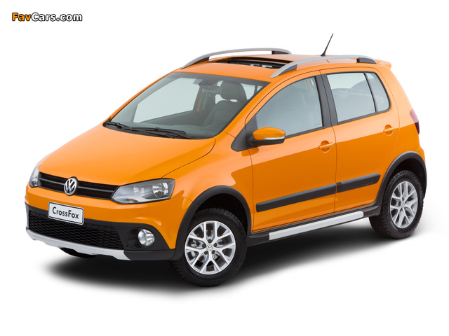 Volkswagen CrossFox 2012 wallpapers (640 x 480)