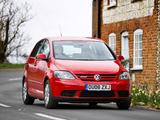 Pictures of Volkswagen Golf Plus BlueMotion UK-spec 2005–09