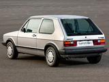 Images of Volkswagen Golf GTI Pirelli UK-spec (Typ 17) 1983