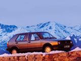 Images of Volkswagen Golf Syncro 5-door (Typ 19) 1986–87