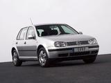 Images of Volkswagen Golf 5-door (Typ 1J) 1997–2003