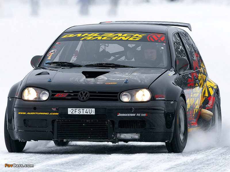 Images of Volkswagen Golf RSI by Dahlback Racing (1J) (800 x 600)