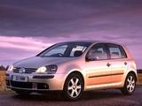 Images of Volkswagen Golf 5-door UK-spec (Typ 1K) 2003–08