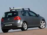 Images of Volkswagen Golf 5-door Lifestyle ZA-spec (Typ 1K) 2004–08
