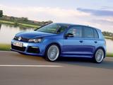 Images of Volkswagen Golf R 5-door (Typ 5K) 2009