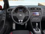 Images of Volkswagen Golf Cabrio (Typ 5K) 2011